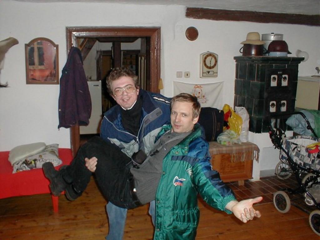 2002-03-08.-10. Dovolená s Rothovými - Chalupa 3
